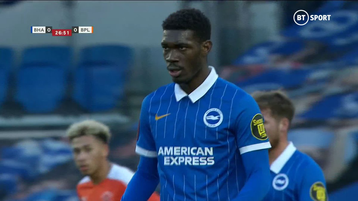 Pick your spot and 𝐁𝐀𝐍𝐆! 💥  An absolute screamer from Brighton's Yves Bissouma! 💪  You don't stop those! 🔥  #EmiratesFACup