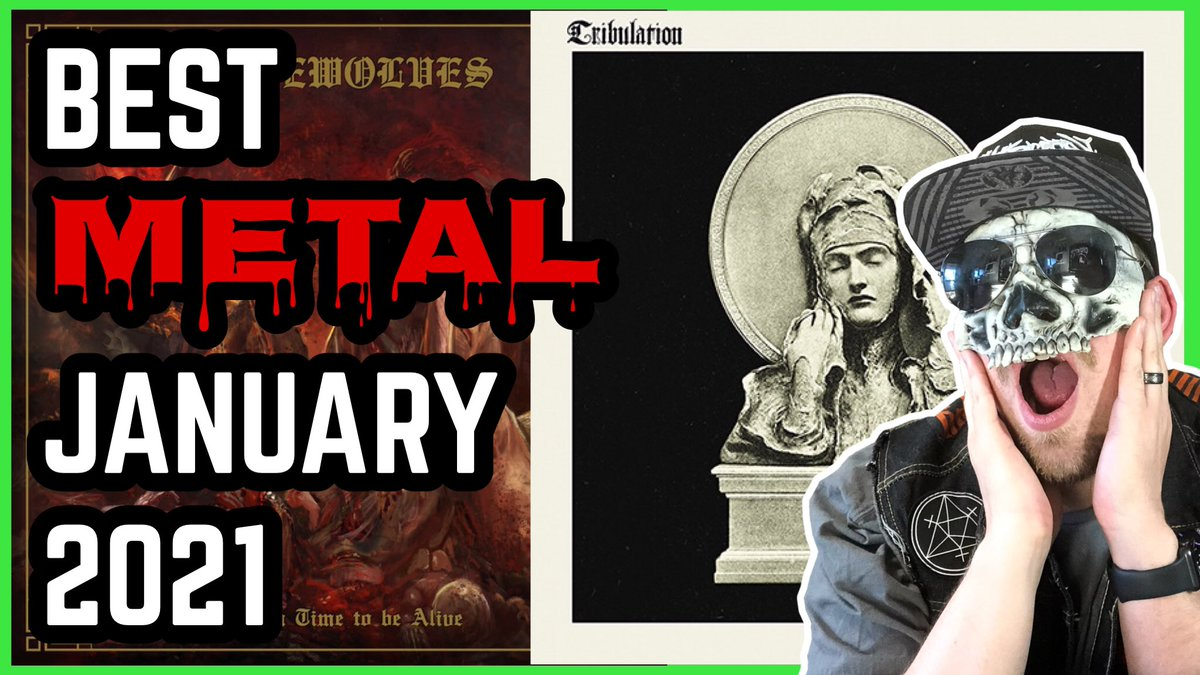 It's my favorite metal albums of January! Let me know which is YOUR favorite. #bestmetal #tribulation #metal2021