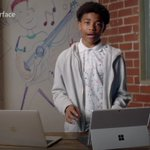 Image for the Tweet beginning: Microsoft's latest ad for the