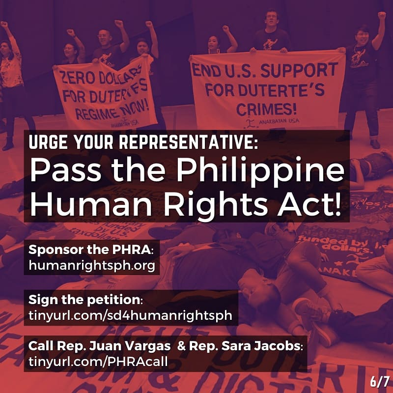 Urge your representative to #PassThePHRA! Get your organization to endorse at ! Sign our petition at ! Call your representative!   #StopTheKillingsPH #OustDuterteNow