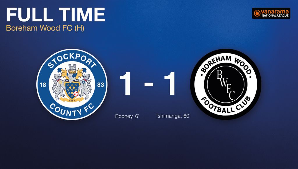 A hard-fought encounter finishes all square at Edgeley Park.