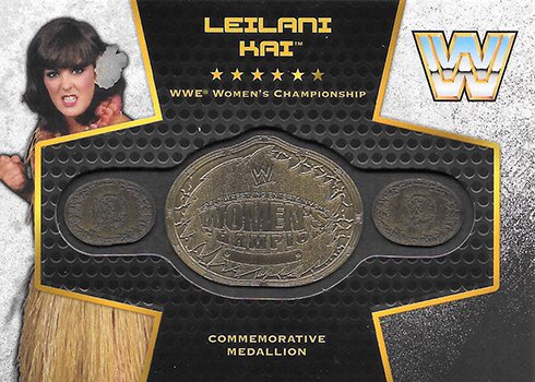 BIRTHDAY SHOUTOUT: Happy Birthday to former Woman's #Champion, Leilani Kai! What's your favorite #wrestlingtradingcard of hers? 😎 #WTC #wrestlingcards #thehobby #collecting #birthday #wrestlingtradingcards #tradingcards #WWF #checklist #Topps #RockNWrestling