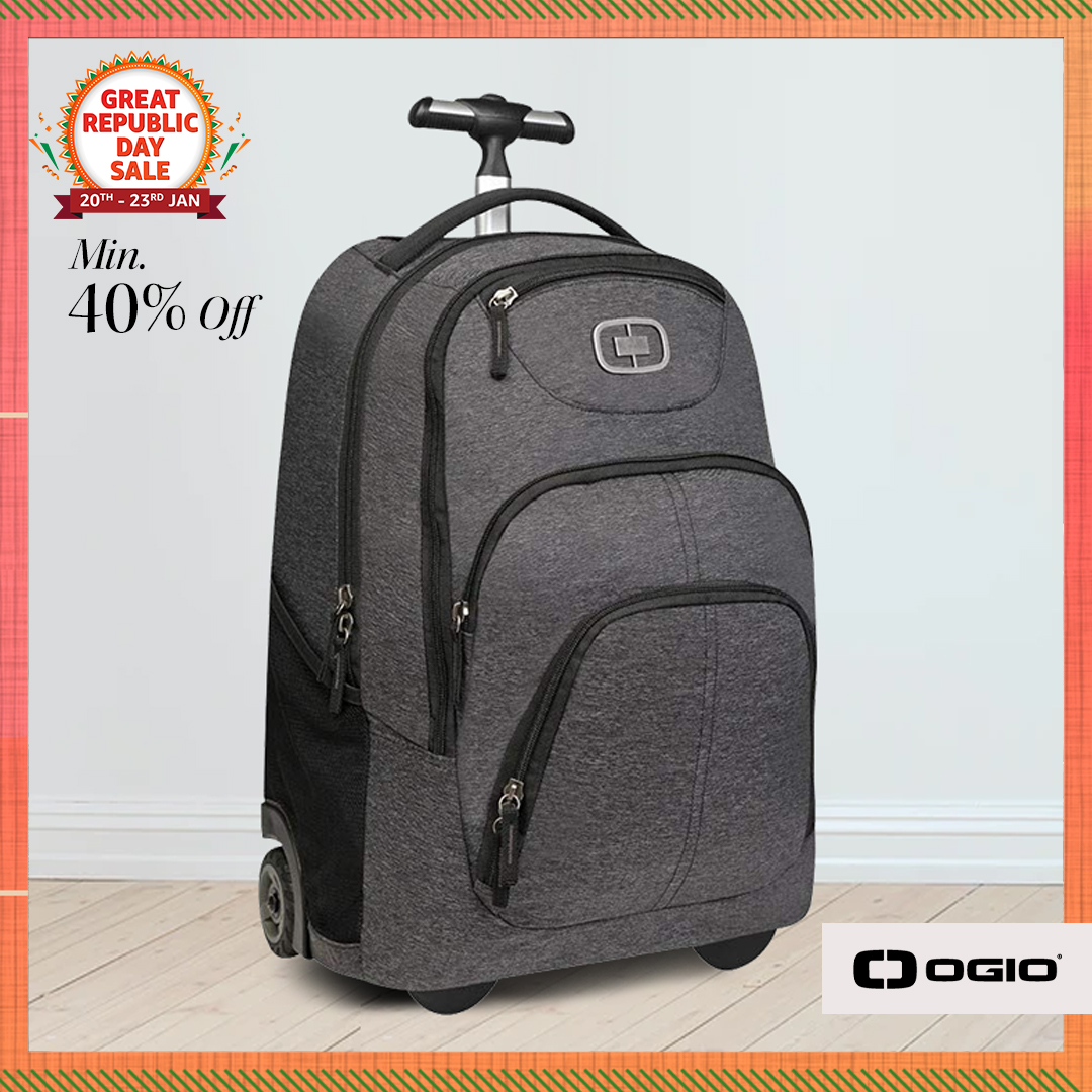 Love adventure? Be it on the open roads or in the city, bags from #OGIO are just the thing for you! Shop now & get them at min. 40% off at the #AmazonGreatRepublicDaySale. Hurry only few hours left:   #OGIO #Luggage #AmazonFashion #HarPalFashionable