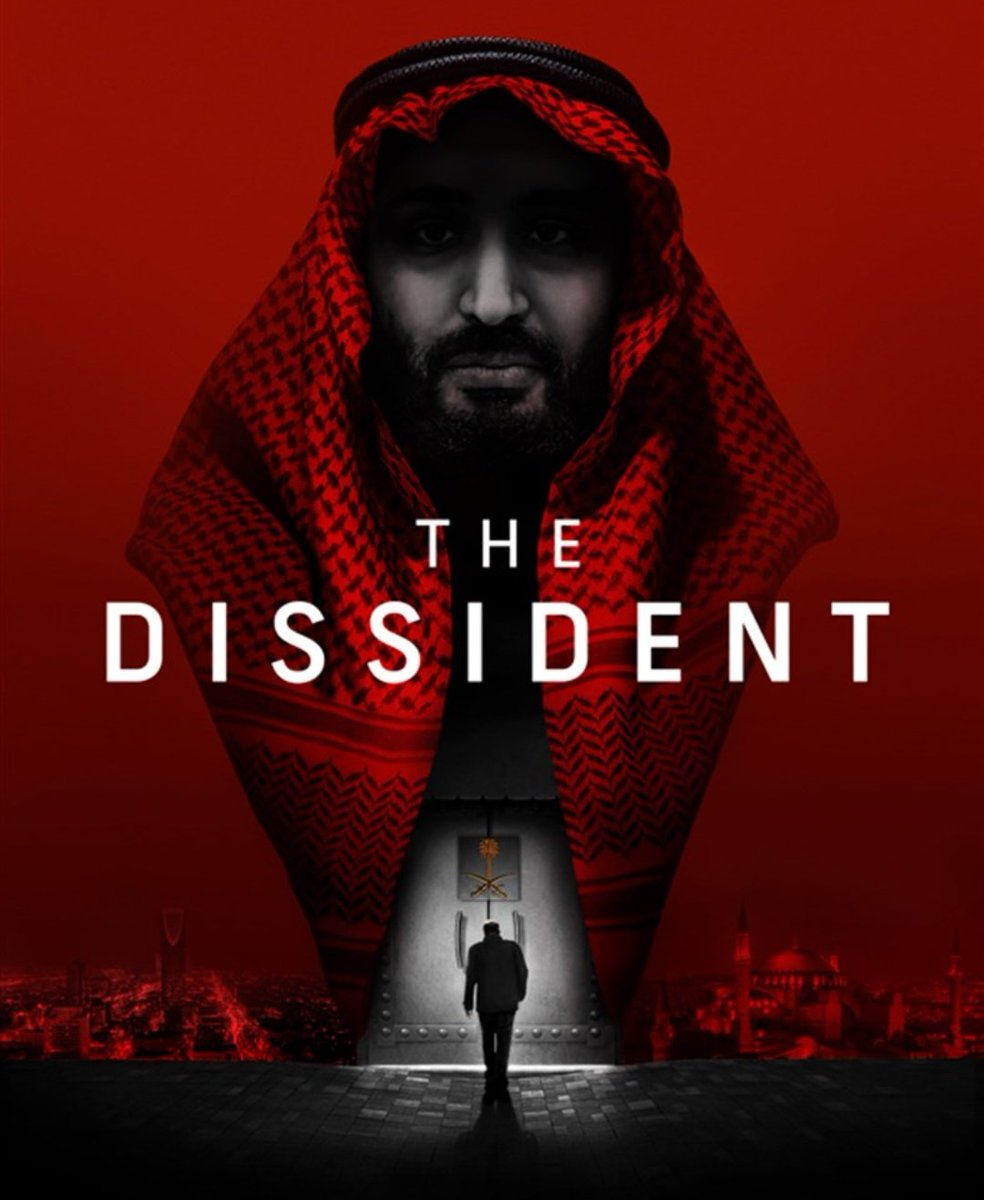 One of the #BestDocumentary speechless after watching #TheDissident ...