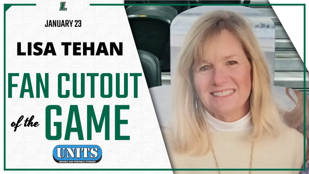 Today's Fan Cutout of the Game is Lisa Tehan. Lisa will receive a Loyola Fan Pack courtesy of @UnitsStorage.  For a chance to win, purchase your own cutout at https://t.co/8DL2uyhefb. https://t.co/y7dwXNYoVS