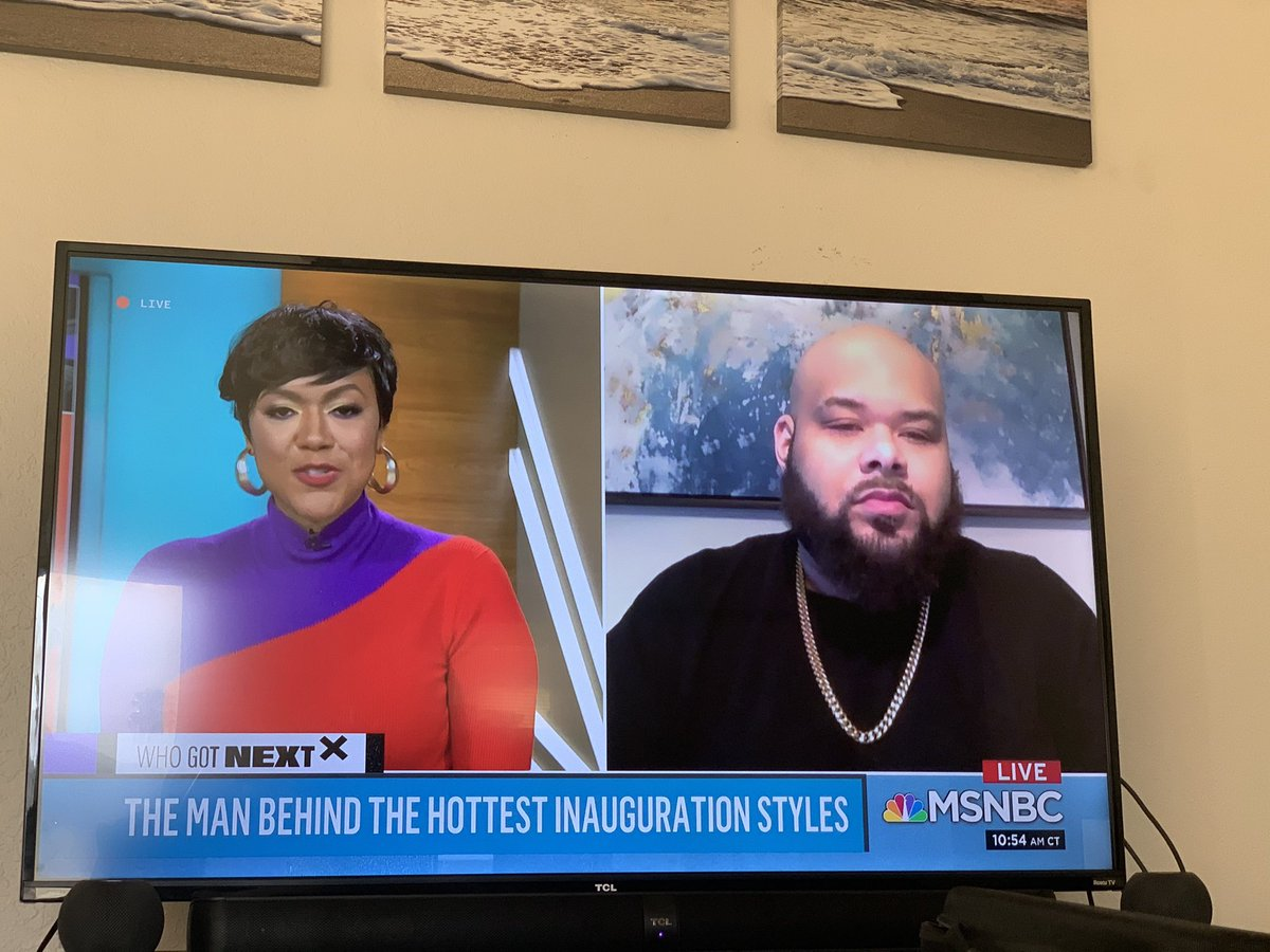 Loving @TiffanyDCross new show on @MSNBC - such a breath of fresh air and #BlackExcellence 🌟 #CrossConnection
