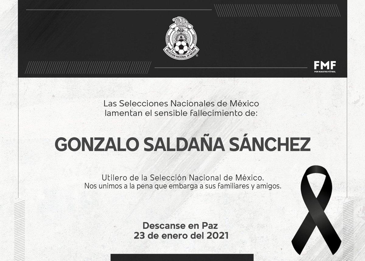 Una noticia que nos rompe el corazón. Gracias por tu entrega, profesionalismo y amor a estos colores durante tantos años, Gonzalo.   Descansa en paz. 🙏🏻 https://t.co/QGG22pZdpf