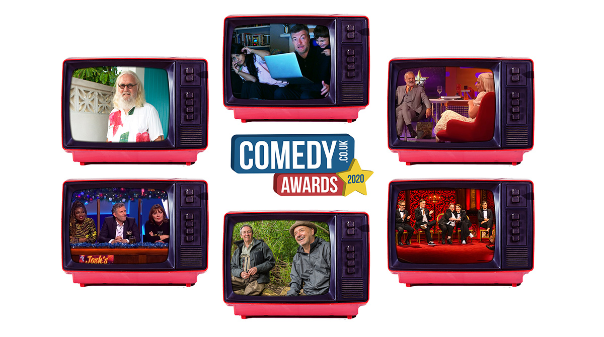 Best TV Entertainment Show 2020 nominees: Billy Connolly; Charlie Brooker's Antiviral Wipe; The Graham Norton Show; The Last Leg; Mortimer & Whitehouse; Taskmaster. Pick one to win: