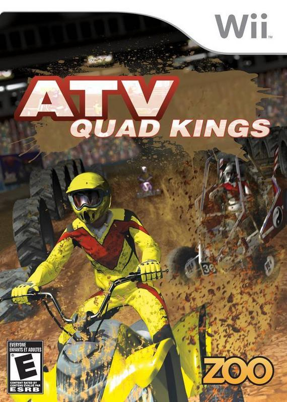 Race your ATV to the max and try to avoid wipe outs while racing to the finish in ATV Quad Kings #nintendo #gamer #videogaming #games #auto