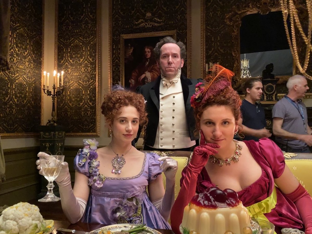 Indeed, the Featheringtons certainly know how to throw and interesting party...