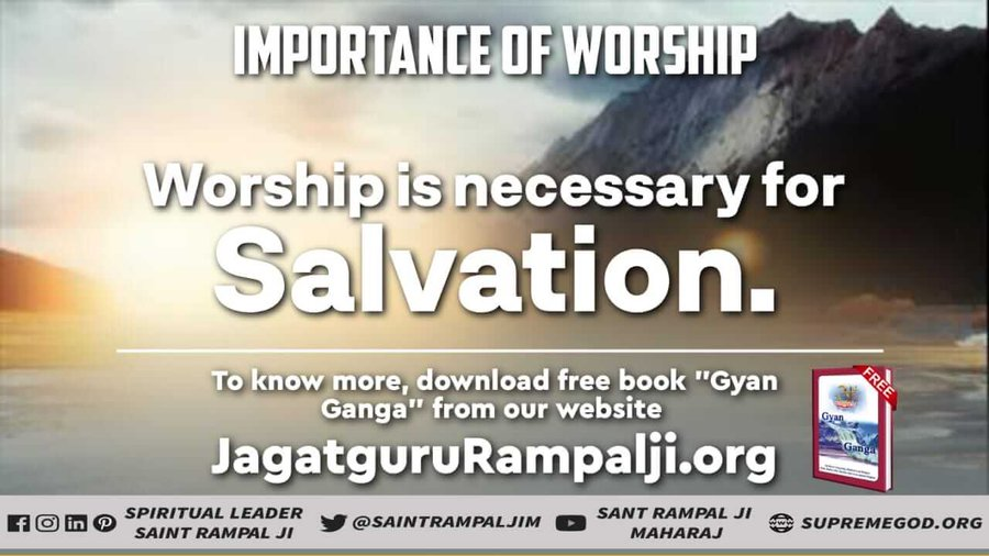 #GodMorningSaturday  IMPORTANCE OF TRUE BHAKTI  One will suffer in the lives of animals without performing bhakti auspicious deeds. Must Watch Sadhna tv-7:30pm @SaintRampalJiM  For More Information Visit Satlok Ashram YouTube Channel #SaturdayMorning #SaturdayThoughts