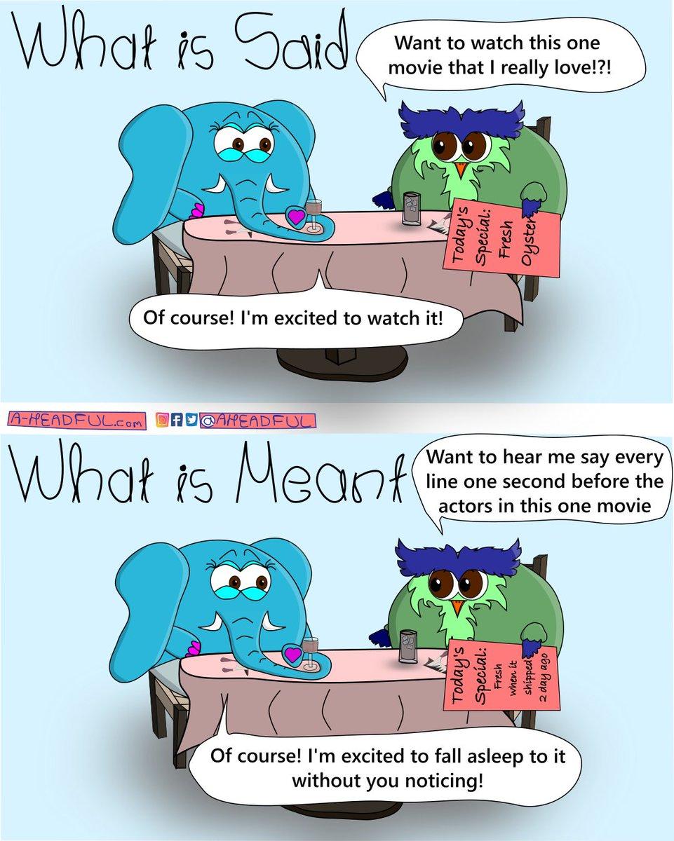 Movie night!  #Aheadful #love #webcomic #webtoon #comic #comics #comicstrip #funny #dailycomic #cartoonoftheday #funnycartoons #art #funnycartoons #humor #jokes #family #life #lol #drawing #goodmorning #movienight #myfavoritemovie #iknowallthelinestothismovie #fallasleep #movie