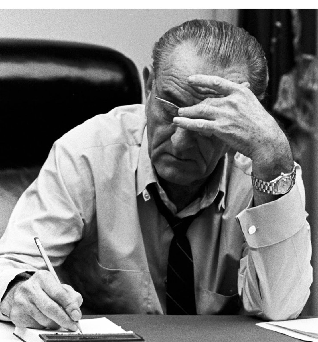 Lyndon Johnson may have worn a Rolex, but he got a lot done for the poor, suffering and disenfranchised: