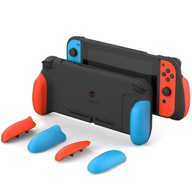 A Perfect Solution For Players Who Prefer SWITCH In Handheld Mode. 3 pairs of interchangeable grips to fit all hand sizes and provide players with comfortable handling to avoid carpal tunnel.  #nintendo  #igersnintendo #xbox #mario #3ds #pcgamer #retrogaming