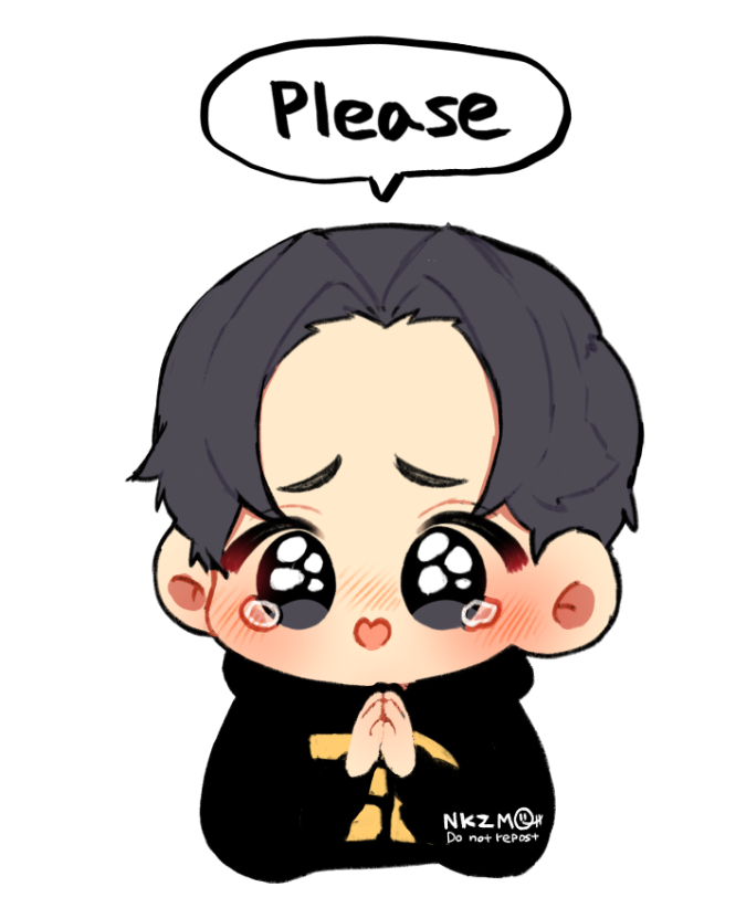 Please do not repost my work without permission. (If you just want to use it as a SNS icon or save it on your phone for personal enjoyment, it's ok.)