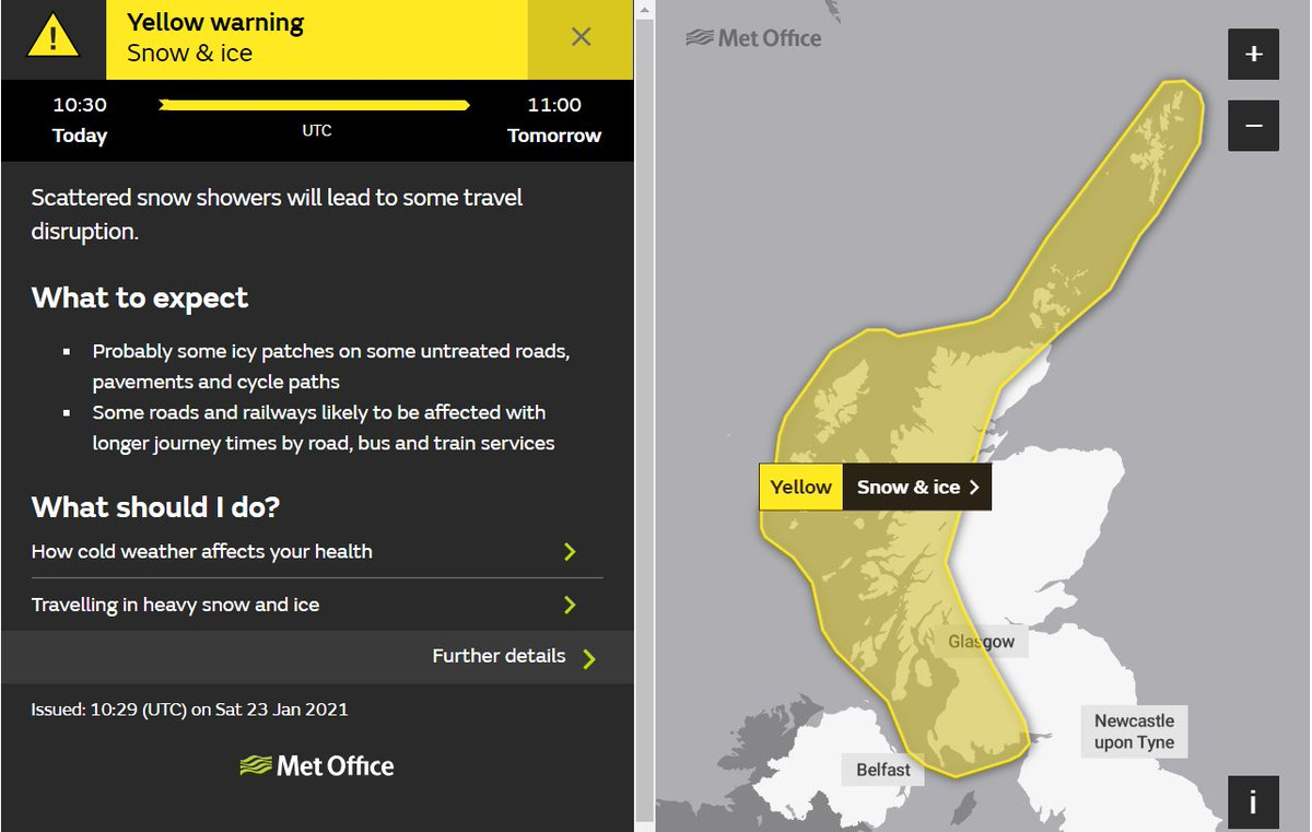 test Twitter Media - There is a @metoffice YELLOW weather warning for SNOW & ICE❄️ tonight until Sunday (24/01) at 11:00  More info: https://t.co/3FemGExFUK  Please only travel if it is essential #DriveSafe #TakeCare https://t.co/1Zqc7VMH8r