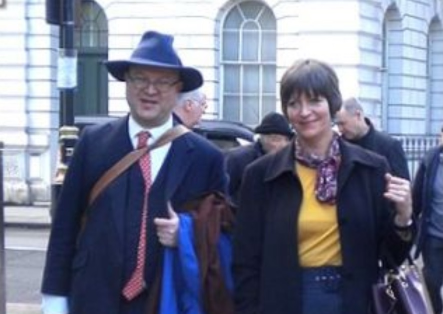Adrian Davies often represents Holocaust-deniers (e.g. Alison Chabloz, pic) & those facing race hate charges in the UK.  As exposed by @thomaswheatley for @cl_atlanta in 2016, Davies is also involved with the Beltem Trust, another Dickson-linked trust owning many ATL properties. https://t.co/DnmEzXtw4V