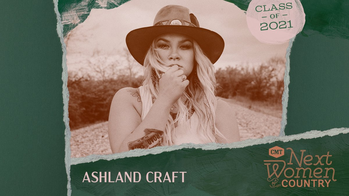 Congratulations, @AshlandCraft! We're so excited to have you be a part of this year's #CMTNextWomen class, and we can't wait to see all the amazing things you'll do in 2021. 🤩