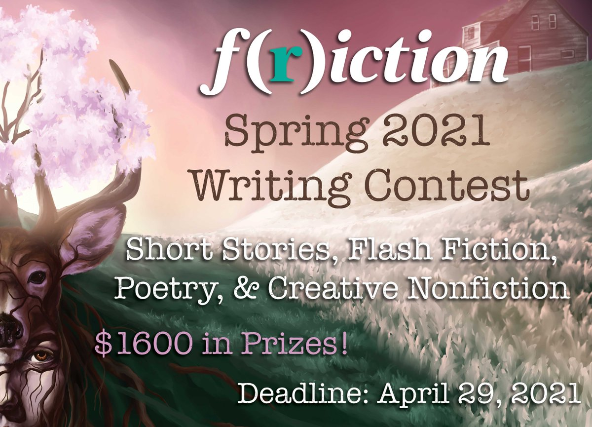 .@FrictionSeries is accepting subs for their spring contests!  Speaking of contests... EIC of @FrictionSeries, @DMHedlund & author @Seth_Fried will join host @sippenator101 in an upcoming contest-focused episode of Inside Writing!    Sign up here: https://t.co/hPCBmXZctr