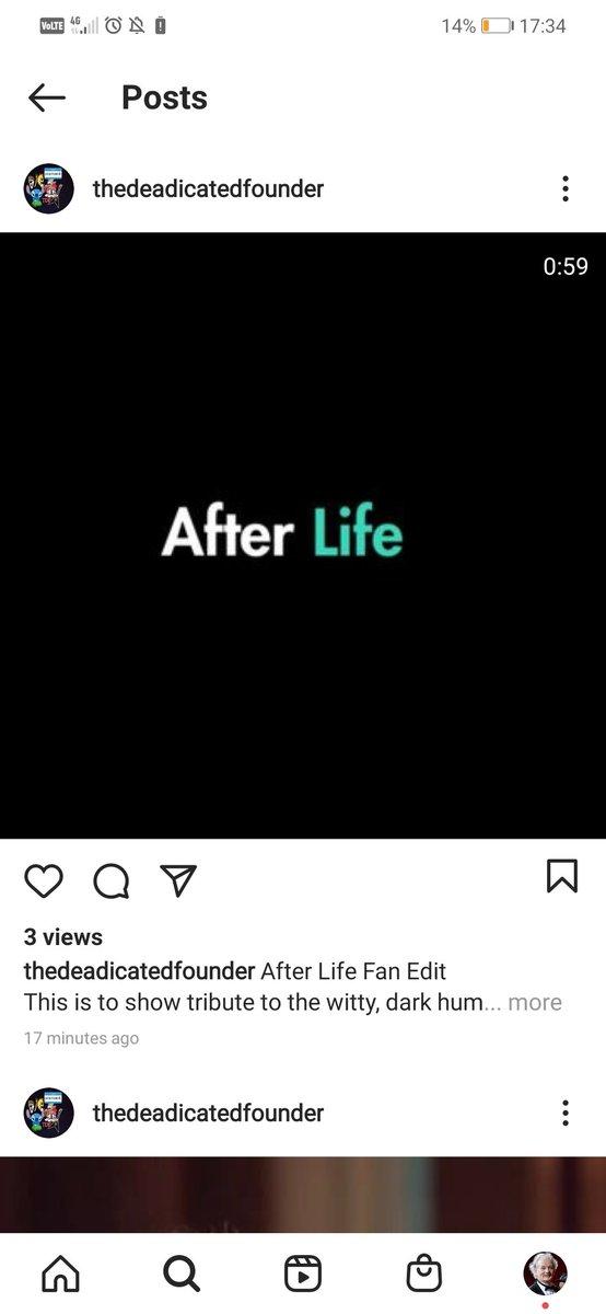 @rickygervais @the_real_TDF  #lockdown #lockdown2021 #2021year #afterlifenetflix #Netflix #loureed #perfectday #rickygervais #rickygervaisafterlife #NetflixTH