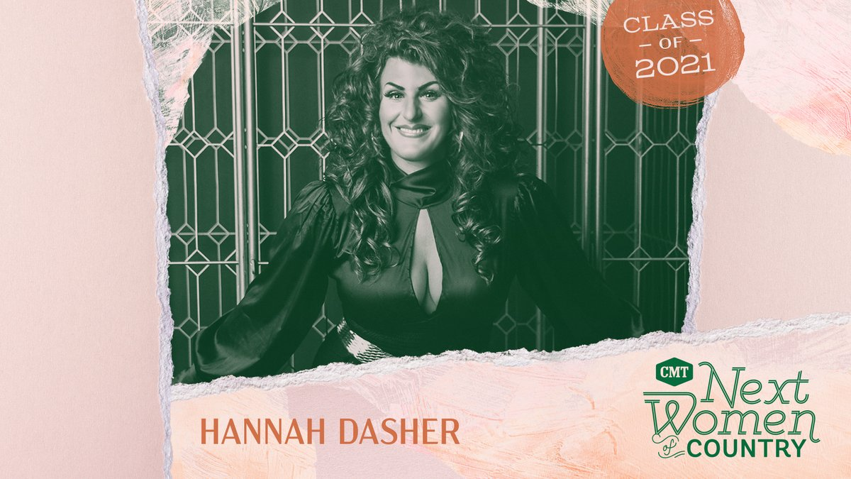 .@HannahDasher, congrats to you lady 💃 We're so happy you're a part of this year's #CMTNextWomen class. We already know you will kill it this year. 🔥