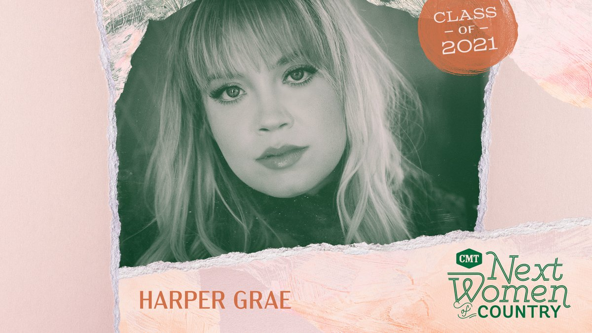 Congratulations, @harpergraemusic! You're such a great addition to this year's #CMTNextWomen class. We already know 2021 will be amazing for you. 🤗