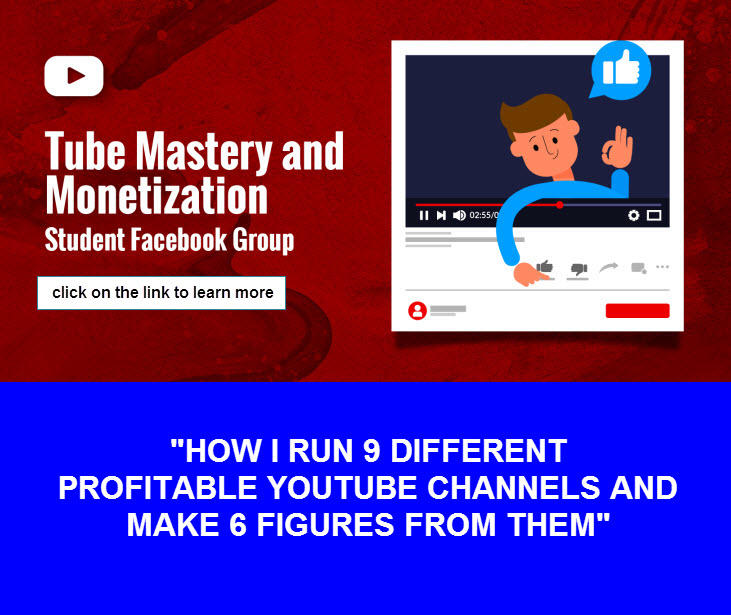 Tube Mastery and Monetization is the best YouTube course and community on the market. It reveals how Matt Par runs 9 different YouTube niche channels without even showing his face. 😎   #Caturday #SaturdayMorning #TrumpsNoteToBidenSaid #ThankYouJimin