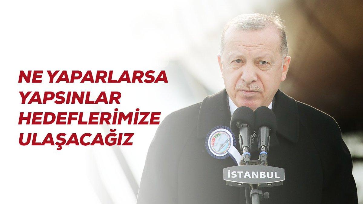 Merhum Nuri Demirağ, Vecihi Hürkuş, Nuri Killigil gibi vatan millet sevdalısı girişimcilerin projelerinin dinamitlendiği günler eski Türkiye'deydi. Artık o günler geçti.   Biz, ne yaparlarsa yapsınlar inşallah hedeflerimize ulaşacağız.