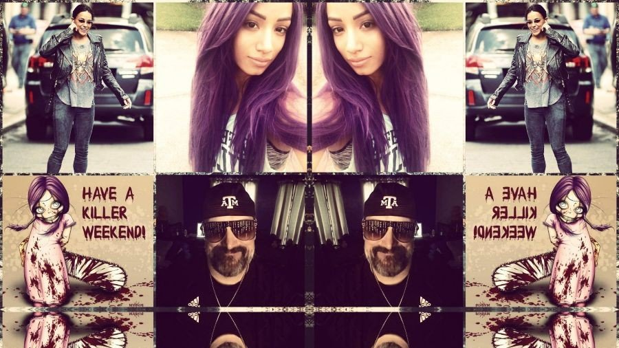 Happy #WickedWeekend Y'all xoxo #Happy #Selfie #TeamHorror #horrorboy #horrorfan #horrorfreak #horroraddict #horrorfamily #horrorlover #SashaBanks #SashaKrew #LegitBoss #MichelleRodriguez #mrodfamily #mrodlover #Horror4Life #Loyal 😊😍👿💀😱👺🔪💙💜❤