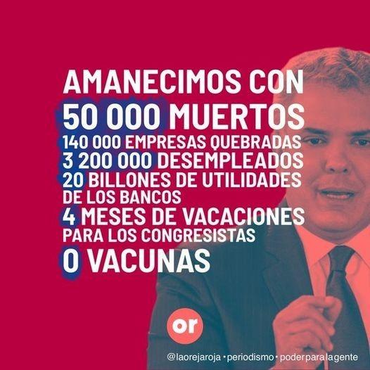 Colombia se hunde.