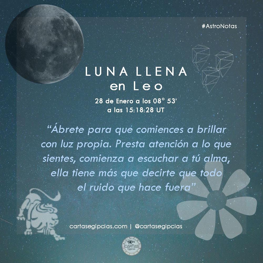 #AstroNotas   Este 28 de #enero tendremos el ingreso de la #LunaLlena (Primera de 2021) en el signo #leo Dicho encuentro augura un período de iluminación, de brillo, un buen momento para que comencemos a darle luz a lo que es importante, relevante: Mas en: