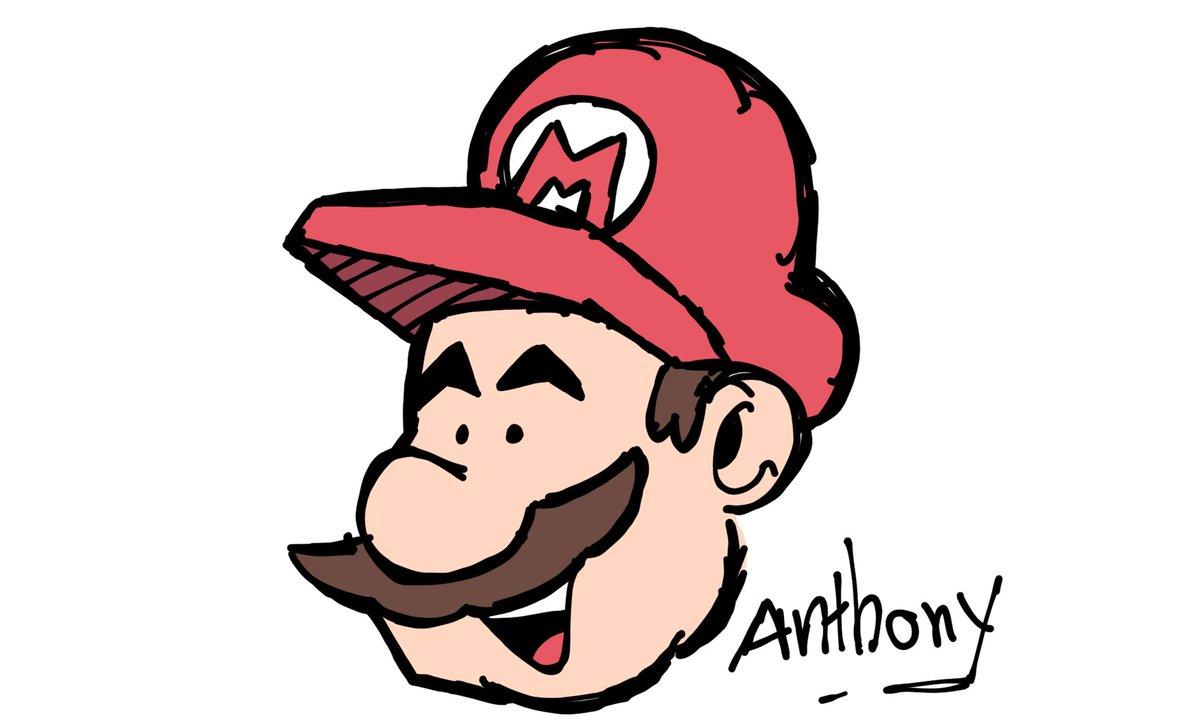 I did a simple sketch of #SuperMario. Nothin more to say. #SuperMarioBros35 #SuperMario3DWorld