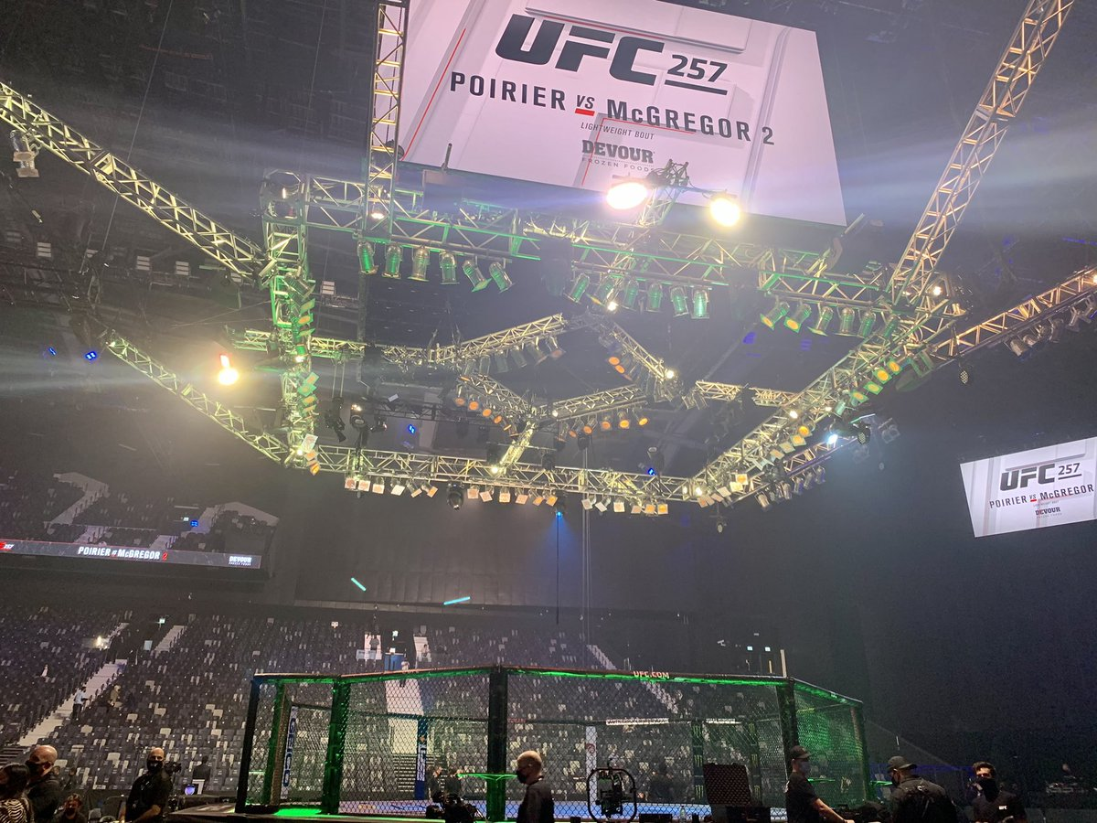 You know the drill... head to @MMAFighting for all of your #UFC257 updates