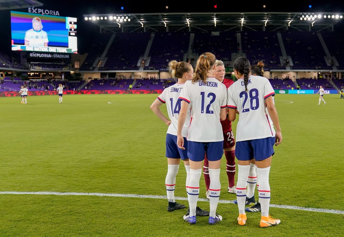 Another dominant defensive effort!   With last night's win over Colombia, the #USWNT has now gone three consecutive games without allowing a shot on goal 💪