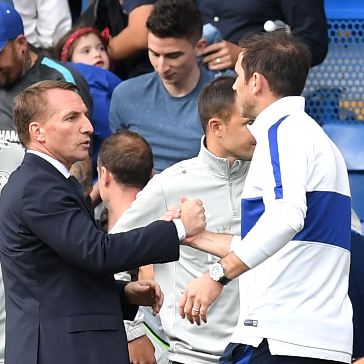 Chelsea are considering Brendan Rodgers as the replacement to Frank Lampard, according to the Mirror 👀
