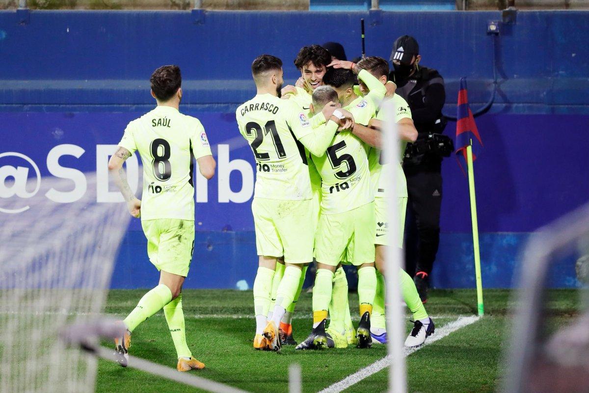 ❗️❗️ JOUR DE MATCH❗️❗️  📋 Journée 20 de LaLiga 🆚 Valencia CF 📍 Madrid 🏟️ Wanda Metroplitano ⏲️ 21h00 #⃣ #AtletiValencia  📺 beIN Sports 2  #AúpaAtleti 🔴⚪️