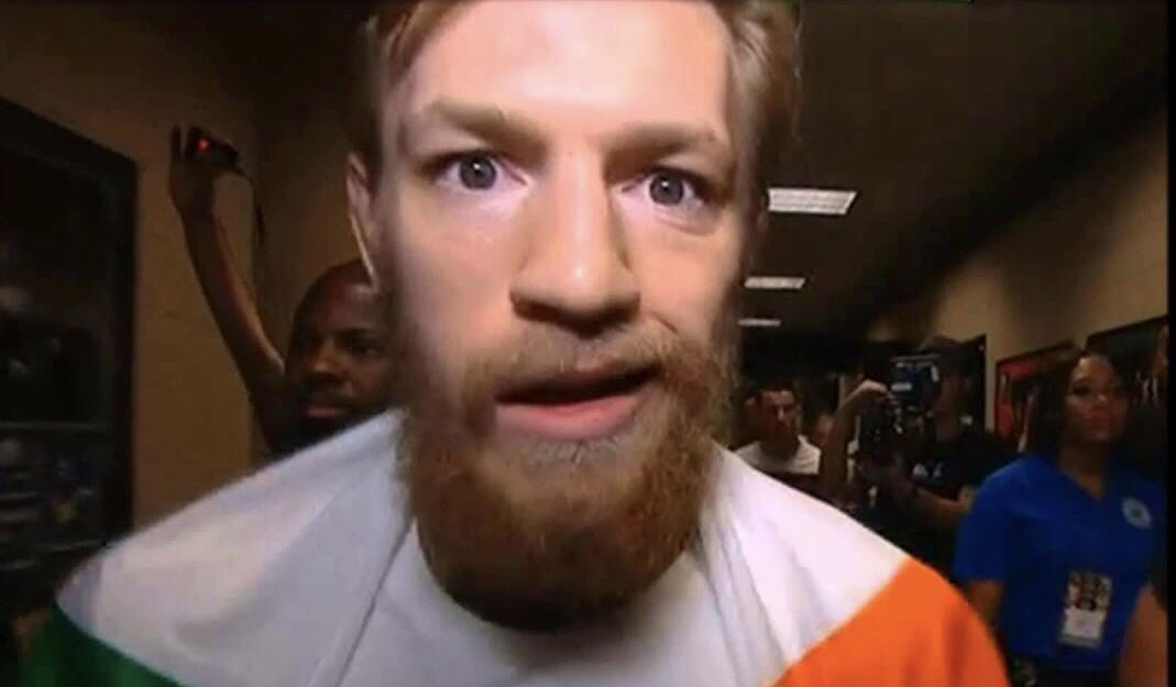 Dustin is really fucked if Conor gives us this look tonight. #UFC257