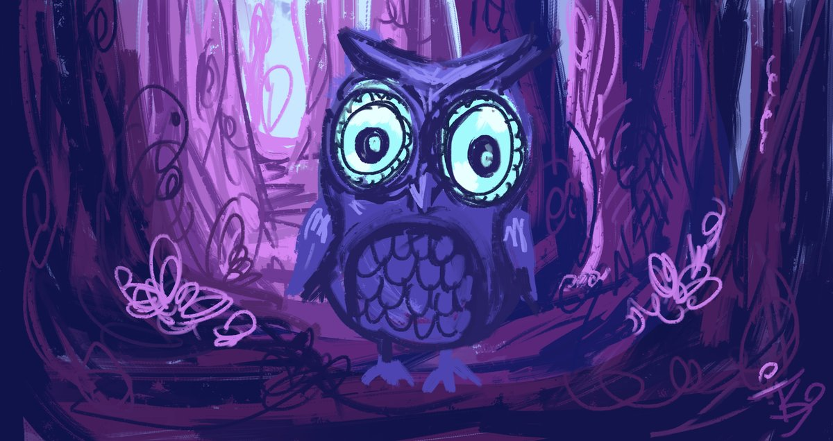 Day 23- Owl  #daily #art #illustration #sketch #drawing #day23 #fantasy #painting #digital #digitalart