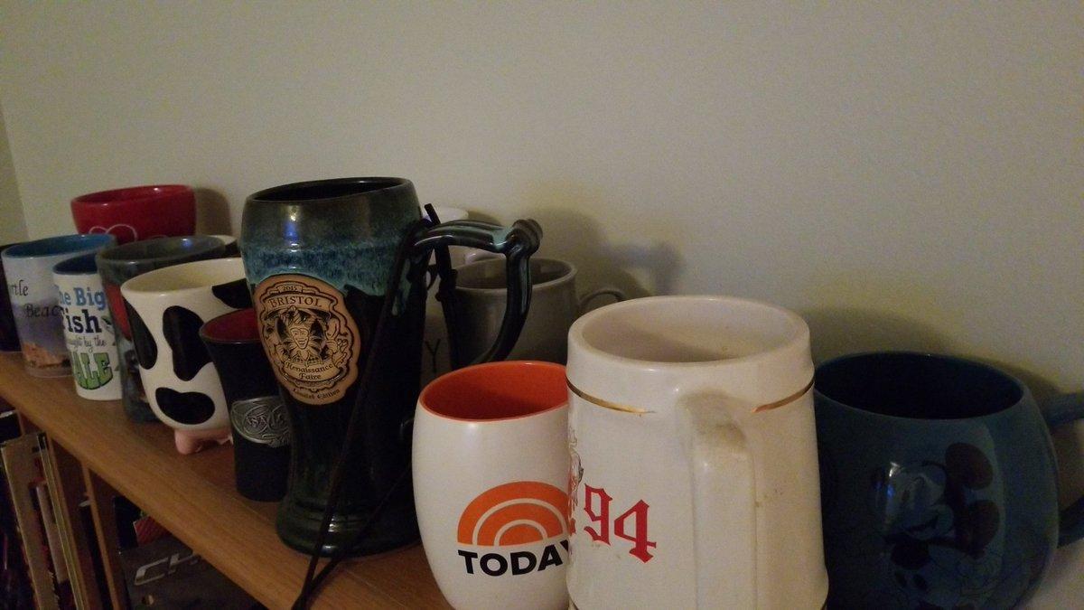 #IOwnARidiculousAmountOf Coffee mugs