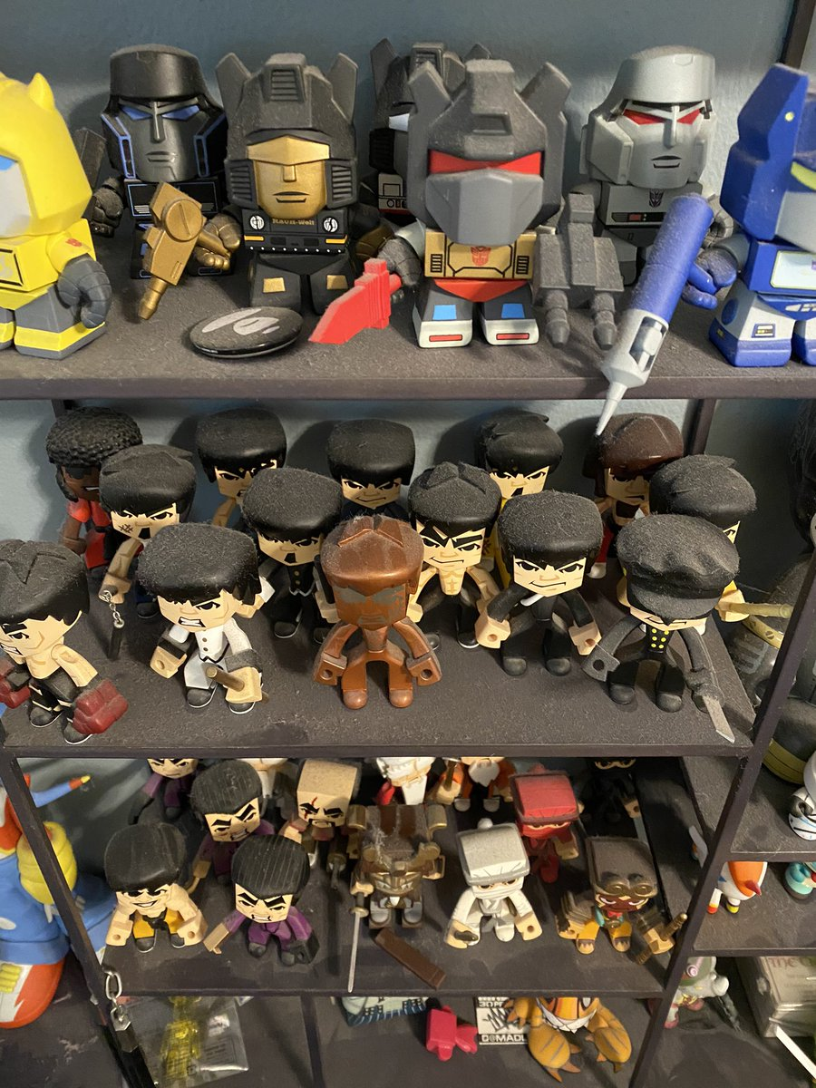 #IOwnARidiculousAmountOf dust on my toy collection