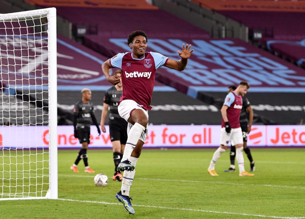 Immensely proud to make my @WestHam debut and to score as well is a dream come true ⚒ a moment I'll cherish forever ❤️