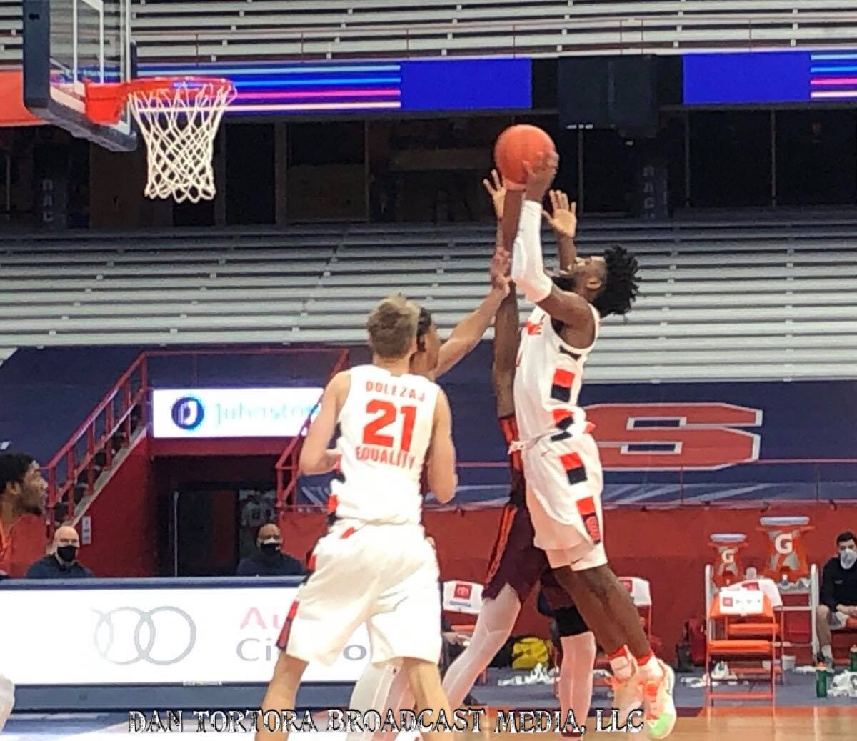 """""""Syracuse Hands Top-20 VT a Double-Digit Loss"""" --> GAME STORY on Syracuse's 78-60 Win over visiting Virginia Tech:   #Syracuse #Cuse #OrangeNation #ACC #ACCMBB #Hokies #VT #collegebasketball #basketball #sports"""