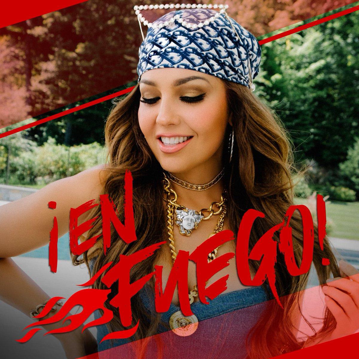 ¡Les hice este playlist en #Spotify con canciones para un fin de semana caliente! 🔥🔥🔥 #EnFuego ➡️