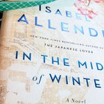 Image for the Tweet beginning: What I'm reading today. Allende