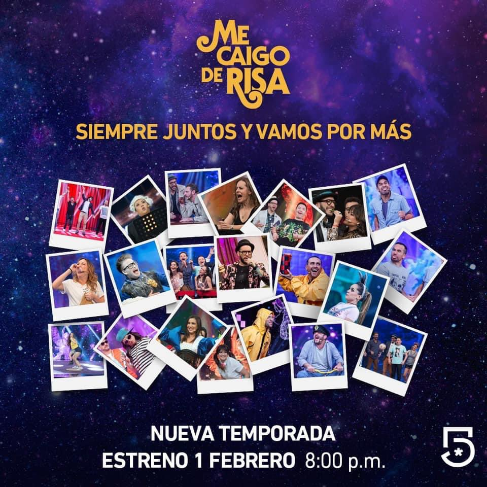 🚨 Ya está de vuelta la #FamiliaDisfuncional 👉🏻 ¿Estás listo?   🚧 @MeCaigoDeRisa y su nueva temporada llegan a #Canal5 el 1 de febrero a las 8:00pm https://t.co/JkyryVc7vi