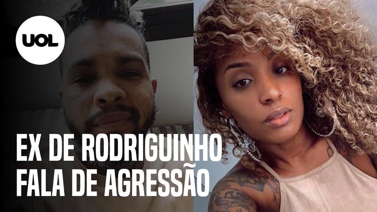 """Ex de Rodriguinho, Nanah Damasceno fala sobre acusação de agressão  Nanah Damasceno explicou o motivo de ter apagado vídeos em que acusava o cantor de agressão, e afirmou: """"Providências foram tomadas"""". Assista ao vídeo completo:"""