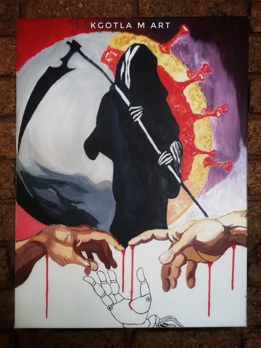 The Black Lives Matter Archive Project - Artist Kgotla Mathe   #art #artists #BlackLivesMatter #BLM #CrisisArt #Racism #hate #whitepower #KKK