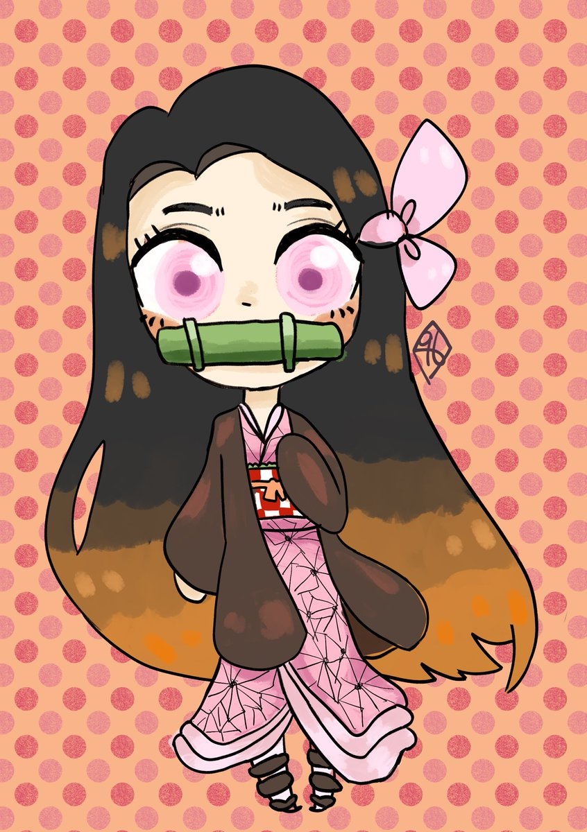 hihi heres nezuko !! #ArtistOnTwitter #DemonSlayer