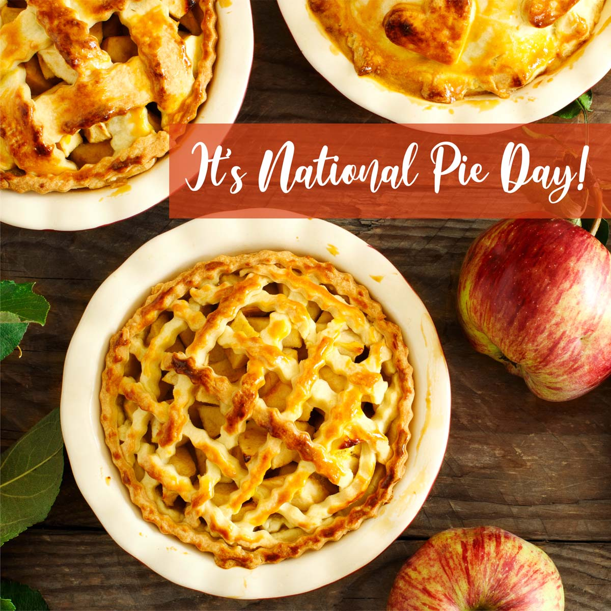 Apple? Cherry? Pumpkin? What are you baking this #NationalPieDay? Have a favorite? Let us know in the comments below!  #pie #food #dessert #cake #homemade #foodie #baking #pies #piesofinstagram #instafood #pastry #applepie #delicious #foodphotography #foodstagram