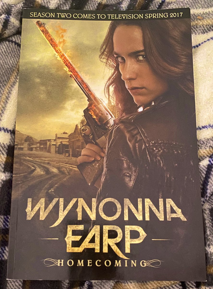 Doing a little reading this afternoon #WynonnaEarp #Homecoming